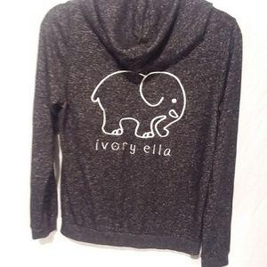 Ivory Ella super soft elephant hoodie size small